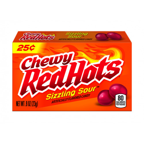 Chewy Red Hots Sizzling Sour