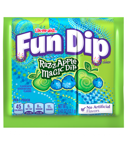 Fun Dip is a candy manufactured by The Willy Wonka Candy Company, a brand owned by a3rfaktar.ml candy has been on the market in the United States and Canada since the s and was originally called a3rfaktar.ml was originally manufactured by Fruzola, and then Sunline Inc., through their Sunmark Brands division, which was purchased by Nestlé in January