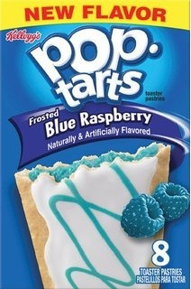 Pop Tarts - Frosted Blue Raspberry